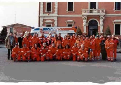 Foto di volontari