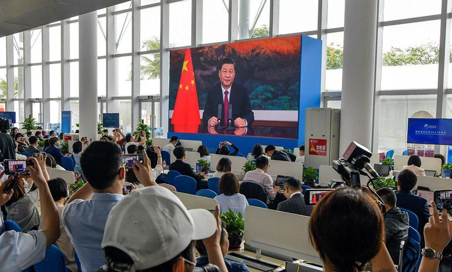 Foto del presidente cinese Xi Jinping